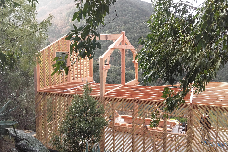 construction maison à ossature bois